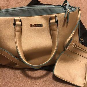 Lily Jade Sarah Grace Gold Diaper Bag